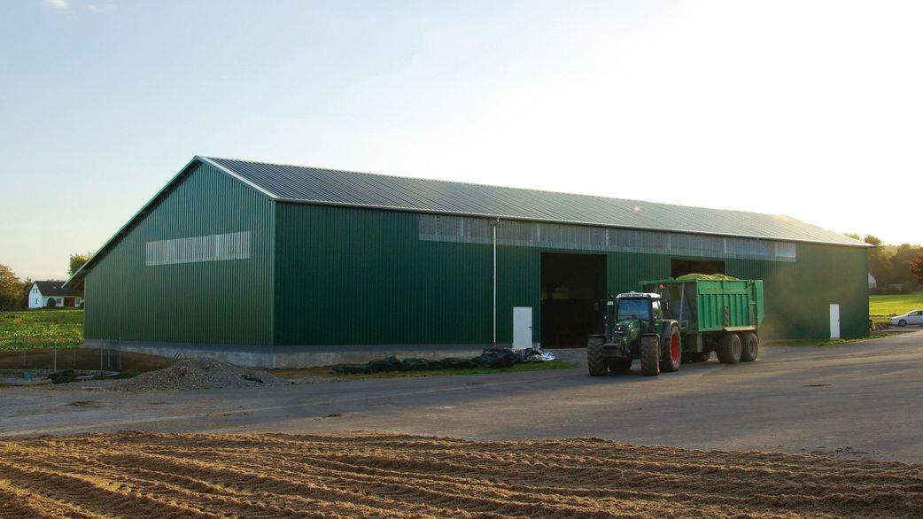 Prächtig Landwirtschaftliche Maschinenhalle – haltec.de @DL_09