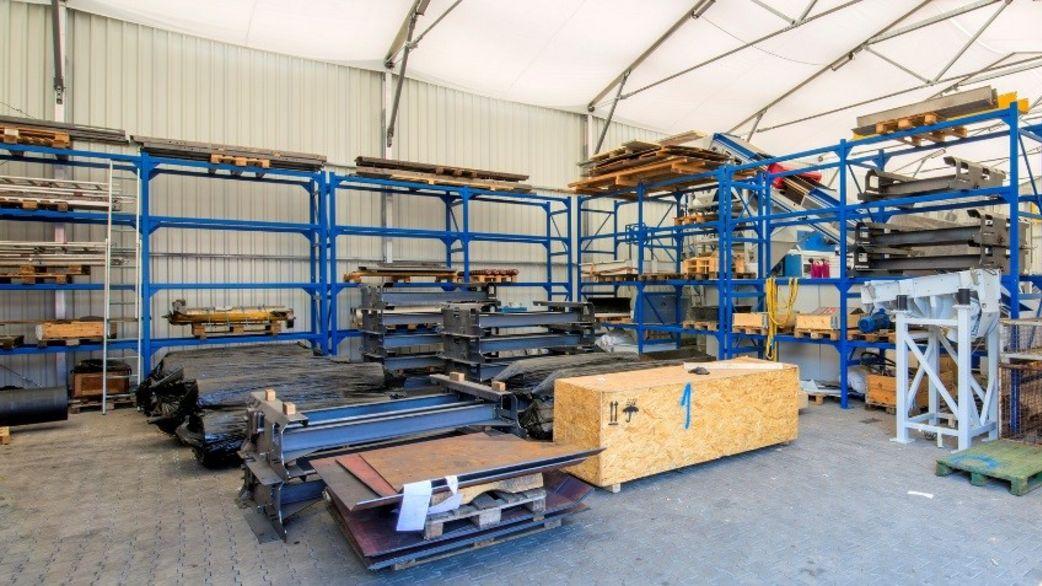 Gemeinsame Lagerhalle günstig & schnell bauen | HALTEC &DD_49