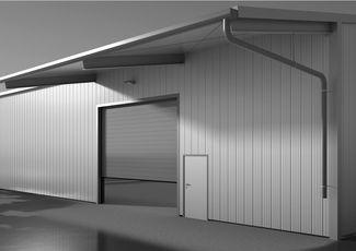 gr e und ausstattung select stahlhallen von haltec. Black Bedroom Furniture Sets. Home Design Ideas