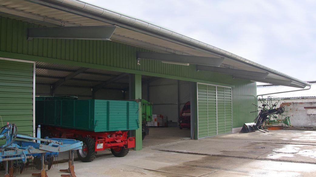 Landwirtschaftliche Maschinenhalle – haltec.de